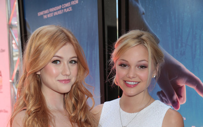 Olivia Holt and Katherine McNamara wallpaper