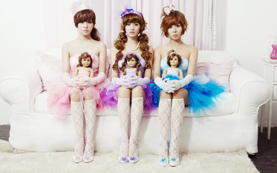 Orange Caramel [2] wallpaper