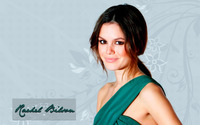 Rachel Bilson in front of a floral wall wallpaper 1920x1080 jpg