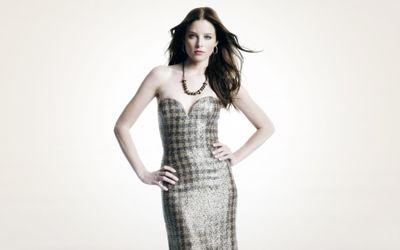 Rachel Nichols with a shiny dress wallpaper