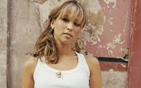 Rachel Stevens with heart shaped earrings wallpaper 1920x1080 jpg