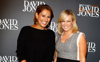 Samantha Armytage and Sally Obermeder [2] wallpaper
