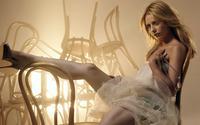 Sarah Michelle Gellar in a room full of chairs wallpaper 1920x1080 jpg