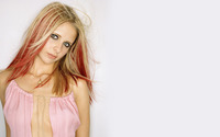 Sarah Michelle Gellar with red strands wallpaper 1920x1080 jpg