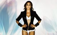 Sensual brunette Rachel Stevens with a black jacket wallpaper 1920x1080 jpg