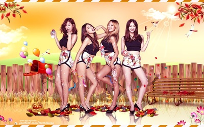Sistar - Touch My Body wallpaper