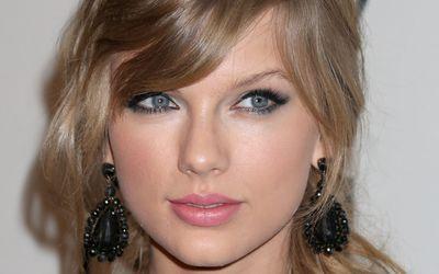 Taylor Swift with black earrings wallpaper