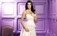 Teri Hatcher in white dress wallpaper 1920x1080 jpg