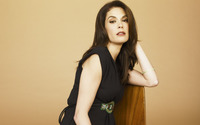 Teri Hatcher on a chair wallpaper 1920x1080 jpg