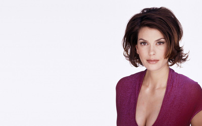 Teri Hatcher with short hair wallpaper