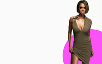 Tyra Banks in a short dress wallpaper 1920x1200 jpg