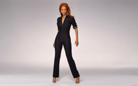 Tyra Banks in jeans wallpaper 1920x1200 jpg