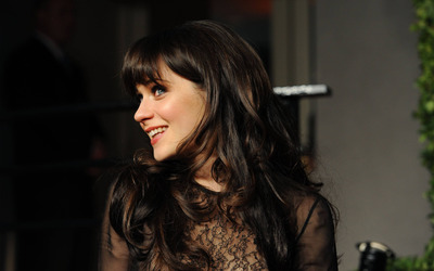 Zooey Deschanel [19] wallpaper
