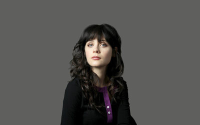 Zooey Deschanel [8] wallpaper