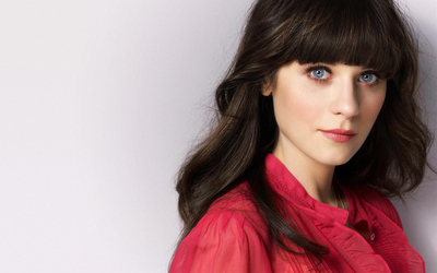 Zooey Deschanel [25] wallpaper
