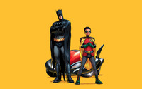 Batman & Robin wallpaper 1920x1200 jpg
