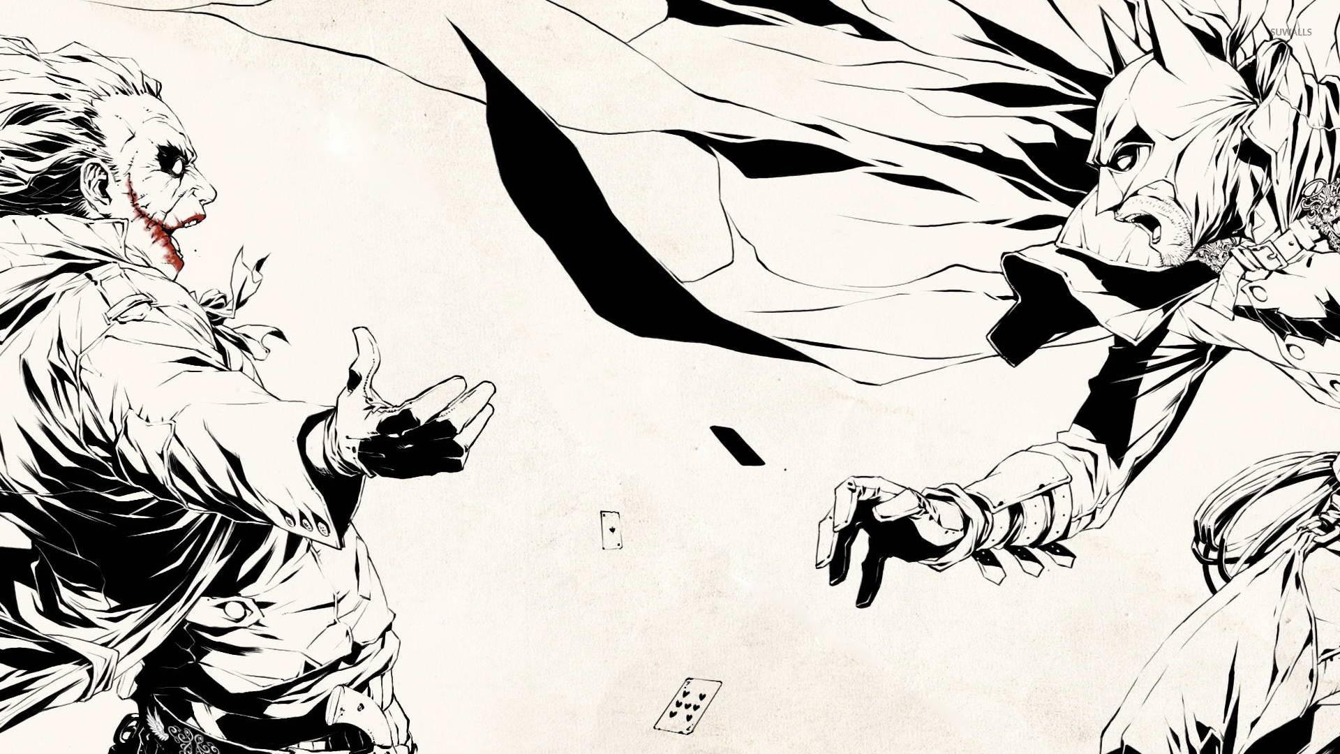 Batman Vs Joker Wallpaper