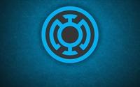Blue Lantern Corps logo wallpaper 1920x1080 jpg