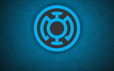 Blue Lantern Corps logo wallpaper