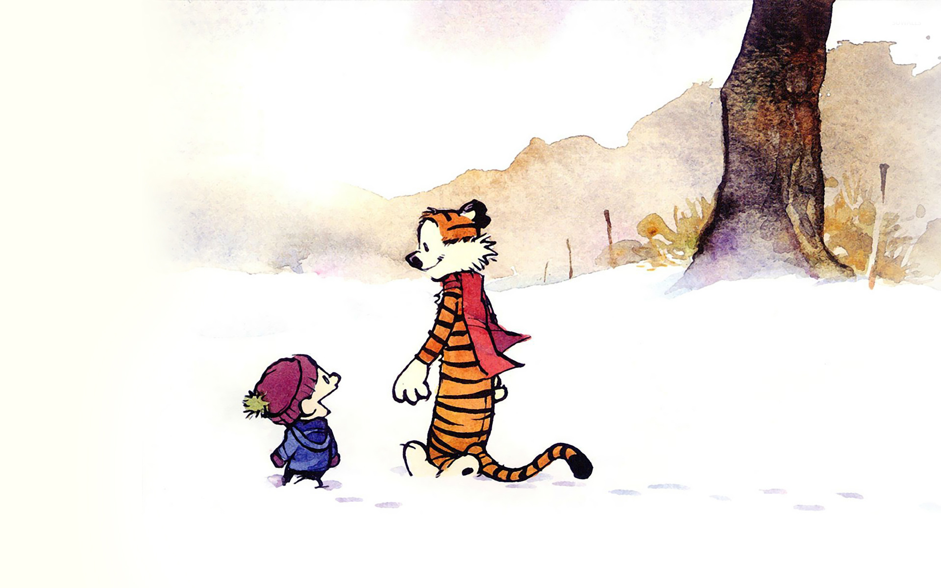 Calvin and Hobbes [4] wallpaper