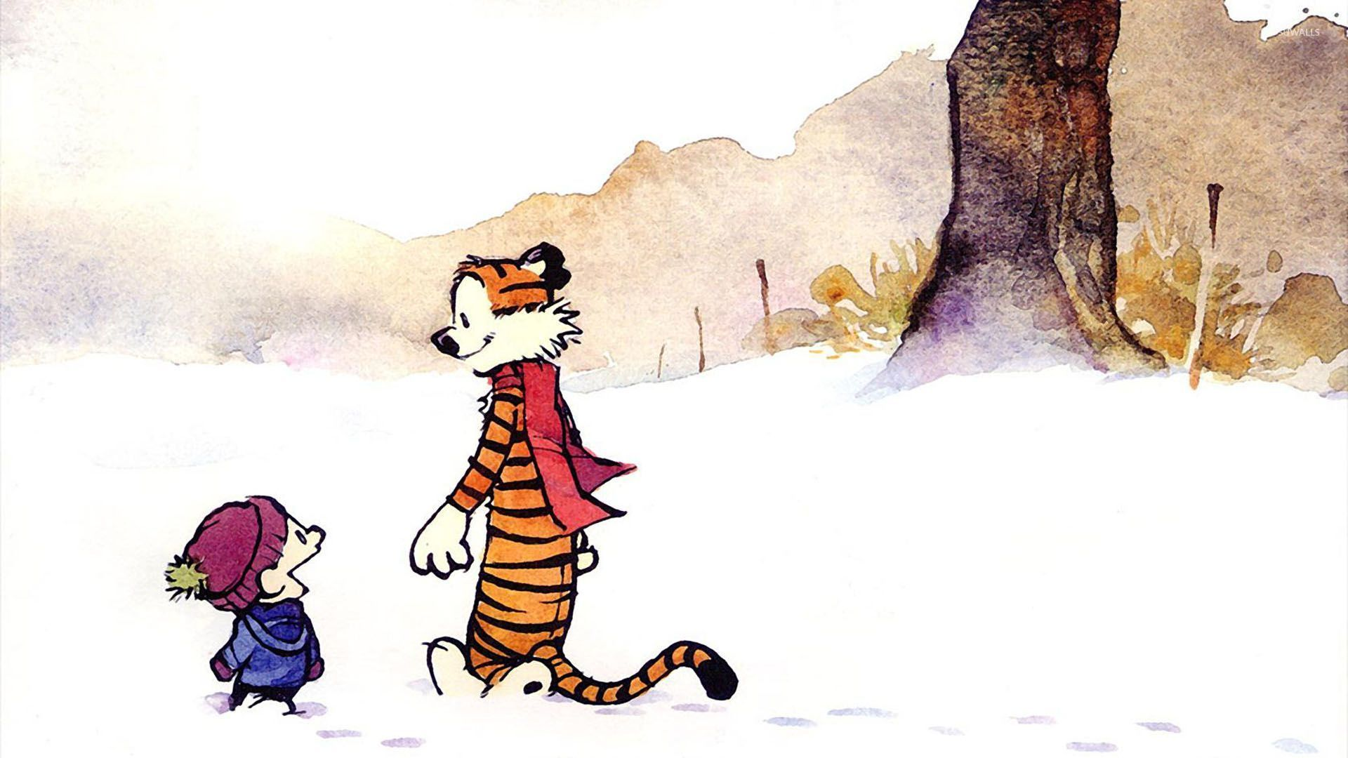 81 Calvin &amp- Hobbes wallpapers optimized for 1920x1080 : pics