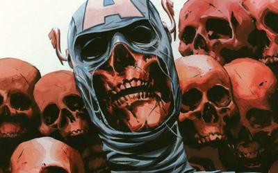 Captain America in Onslaught Reborn wallpaper