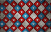 Captain America logo on metallic square pattern wallpaper 2880x1800 jpg