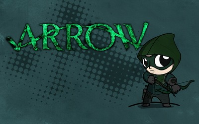 Cute little Green Arrow wallpaper