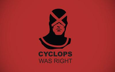 Cyclops was right - X-Men wallpaper