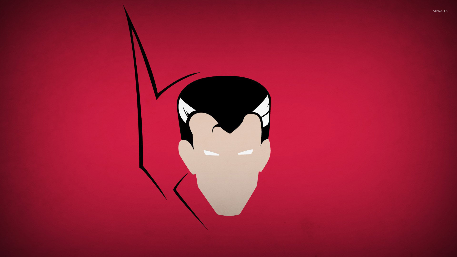 Download Wallpaper Marvel Minimalistic - doctor-strange-head-on-a-pink-wall-49770-1920x1080  You Should Have_946293.jpg