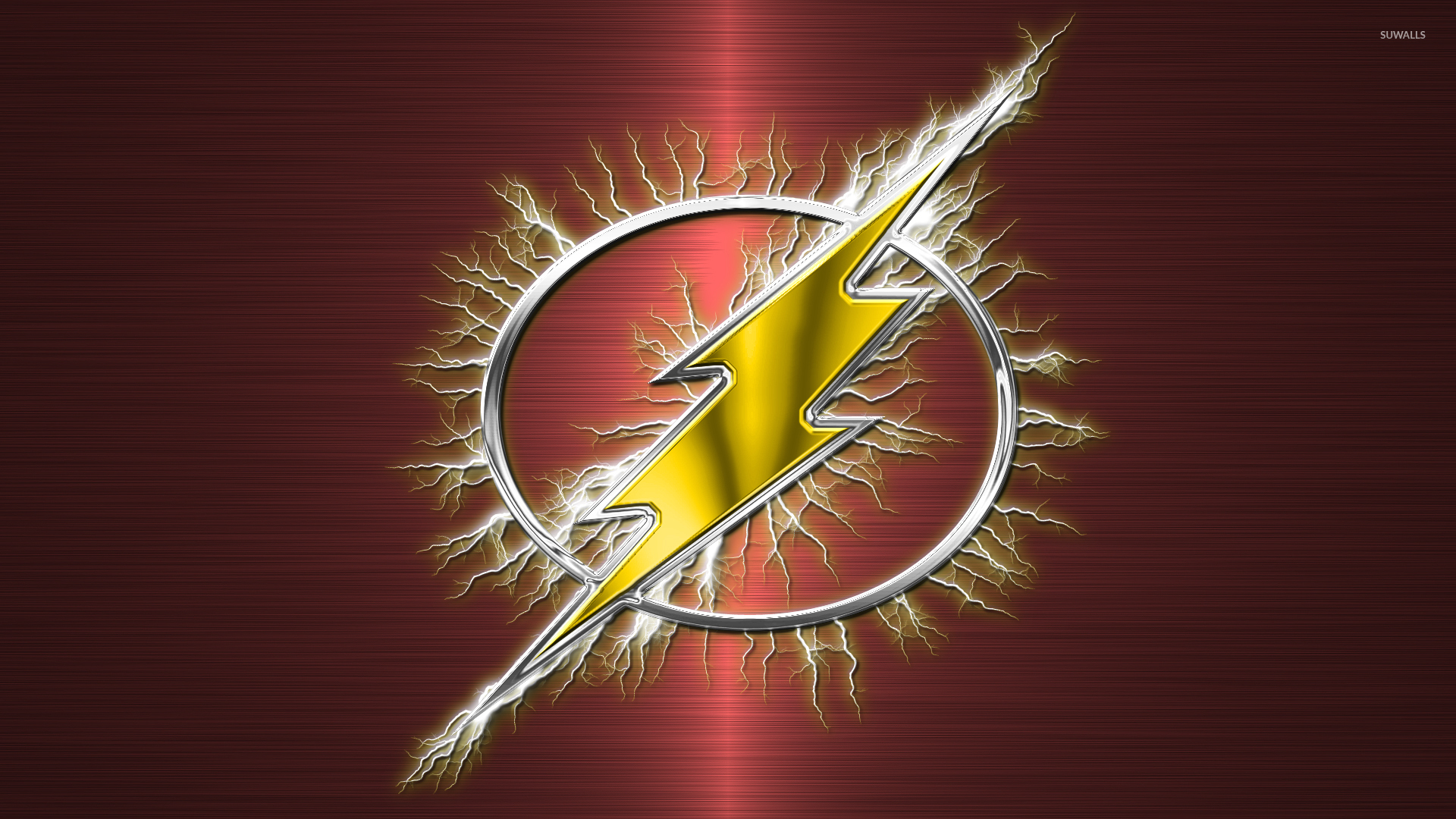 Flash Flashy Logo Wallpaper 1920x1080 Jpg