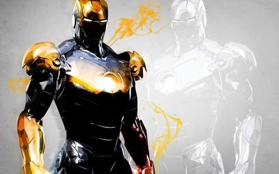 Golden Iron Man wallpaper