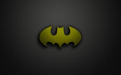 Green Batman logo wallpaper