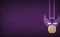 Hawkeye on a purple stone wall wallpaper 1920x1080 jpg