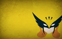 Hawkman on a yellow wall wallpaper 1920x1080 jpg