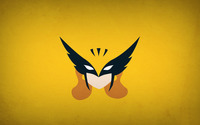 Hawkman on golden wall wallpaper 1920x1080 jpg