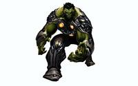 Indestructible Hulk with armor wallpaper 1920x1080 jpg