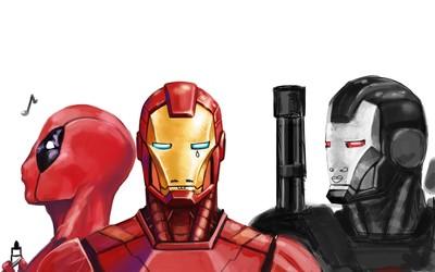 Iron Man crying wallpaper