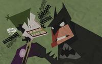 Joker and Batman wallpaper 2880x1800 jpg