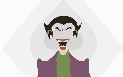 Joker smiling wallpaper