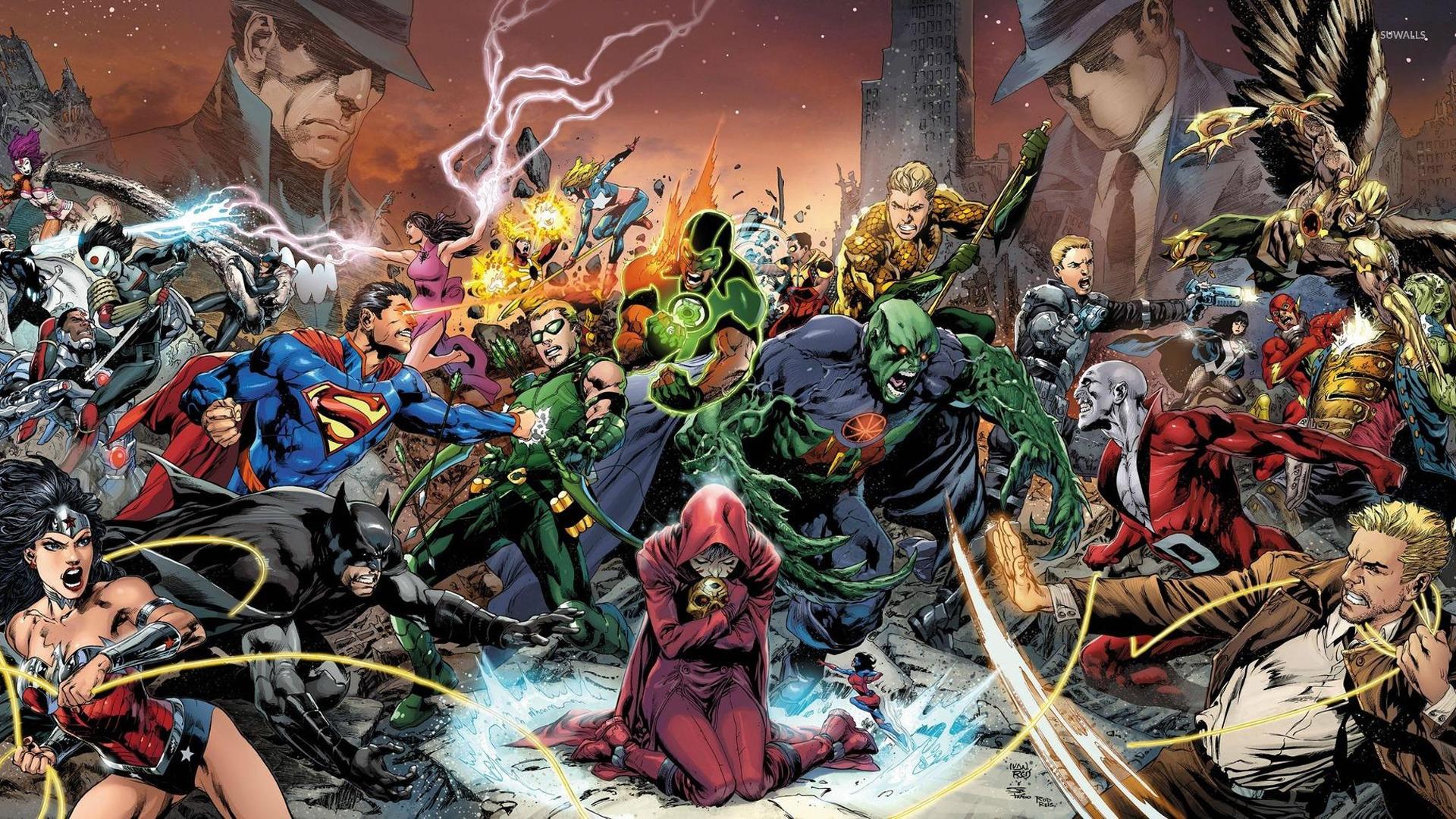 Justice League War Wallpaper Comic Wallpapers 24300