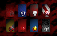 Marvel superhero signs wallpaper 2560x1600 jpg