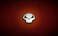 Punisher logo on circle pattern wallpaper 1920x1080 jpg