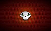 Punisher logo on circle pattern wallpaper 1920x1080 jpg