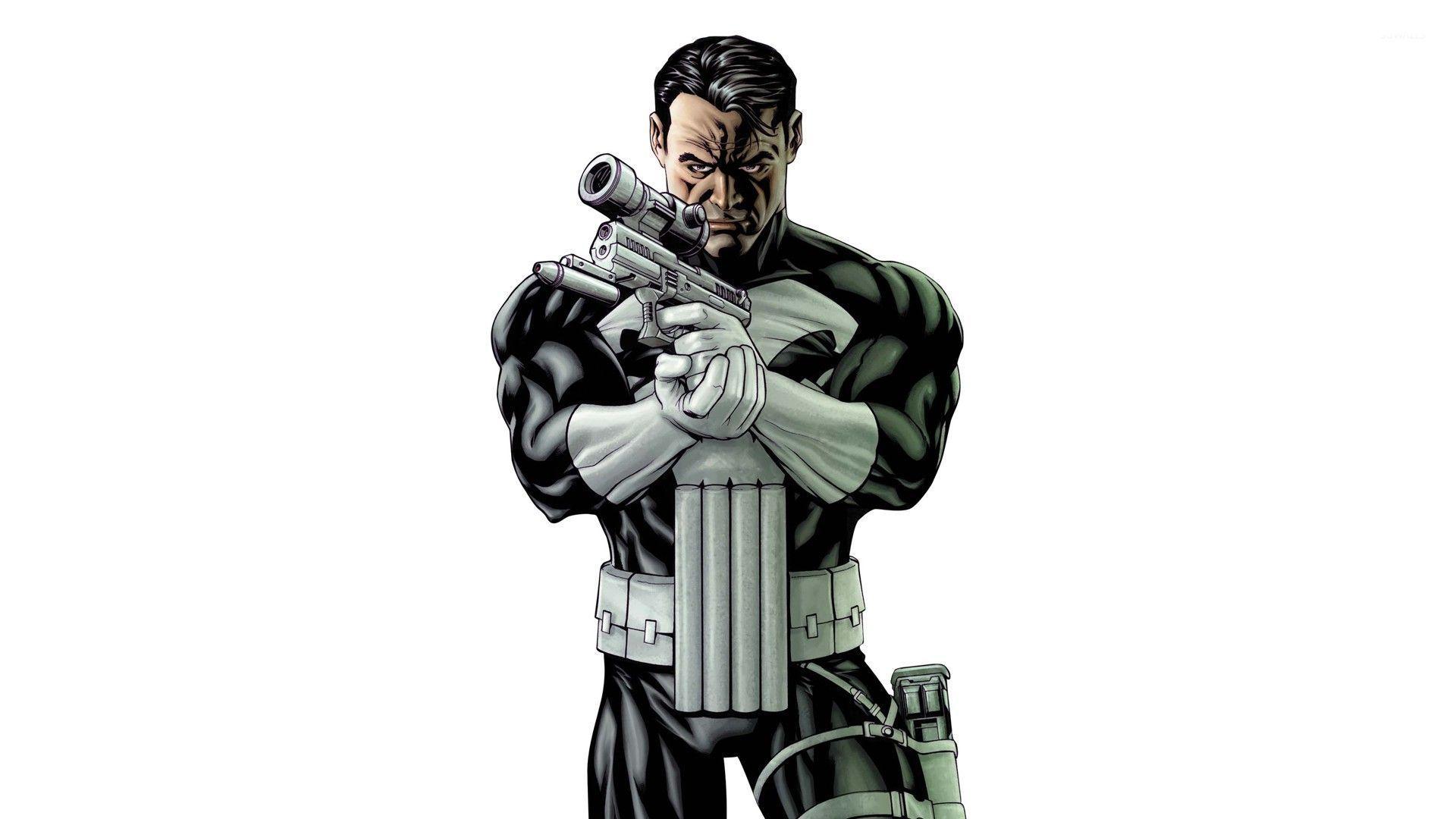Amazing Wallpaper Marvel Punisher - punisher-with-a-gun-50342-1920x1080  Image_4857.jpg
