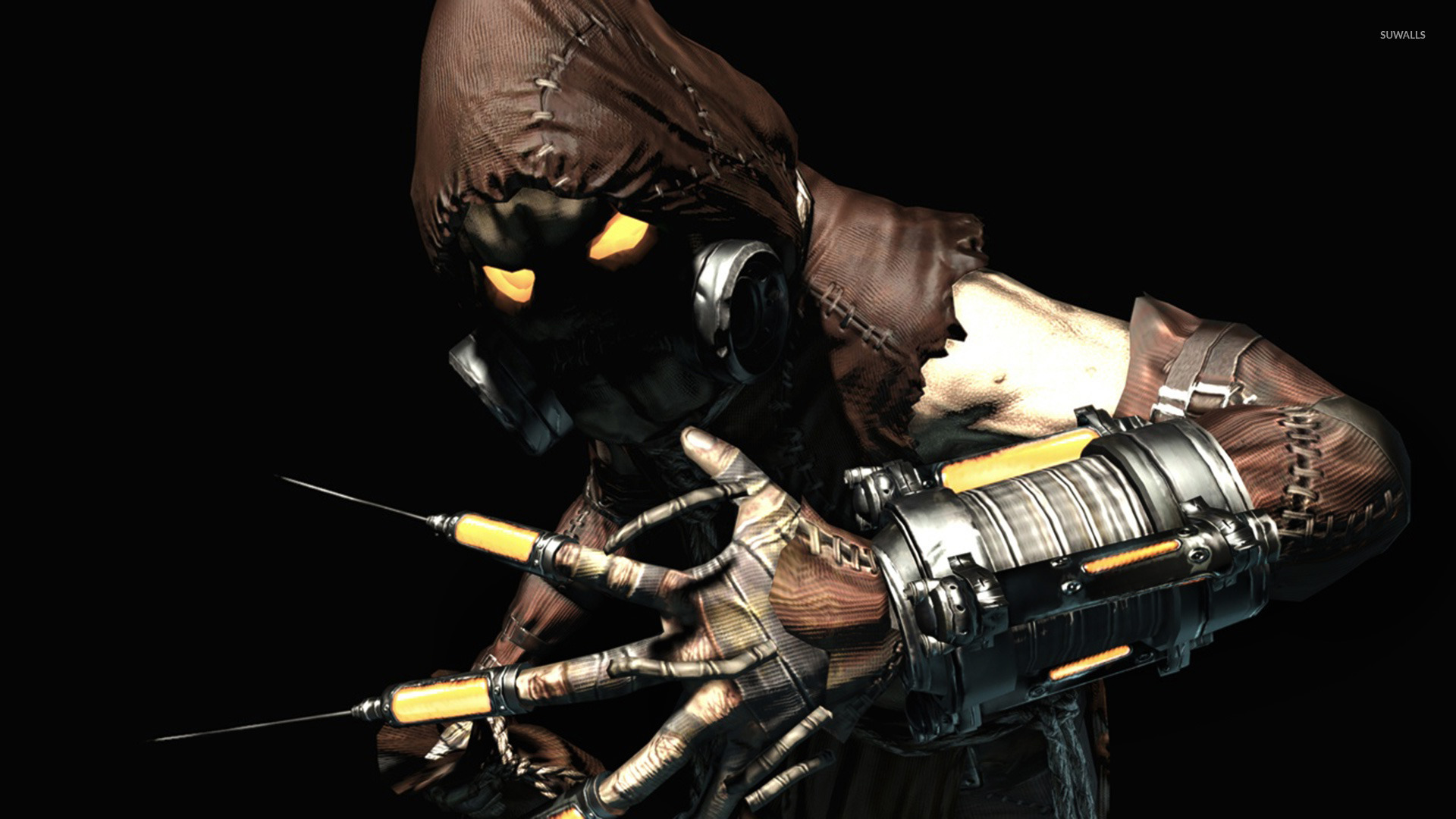 Scarecrow Batman Arkham Asylum Wallpaper Comic