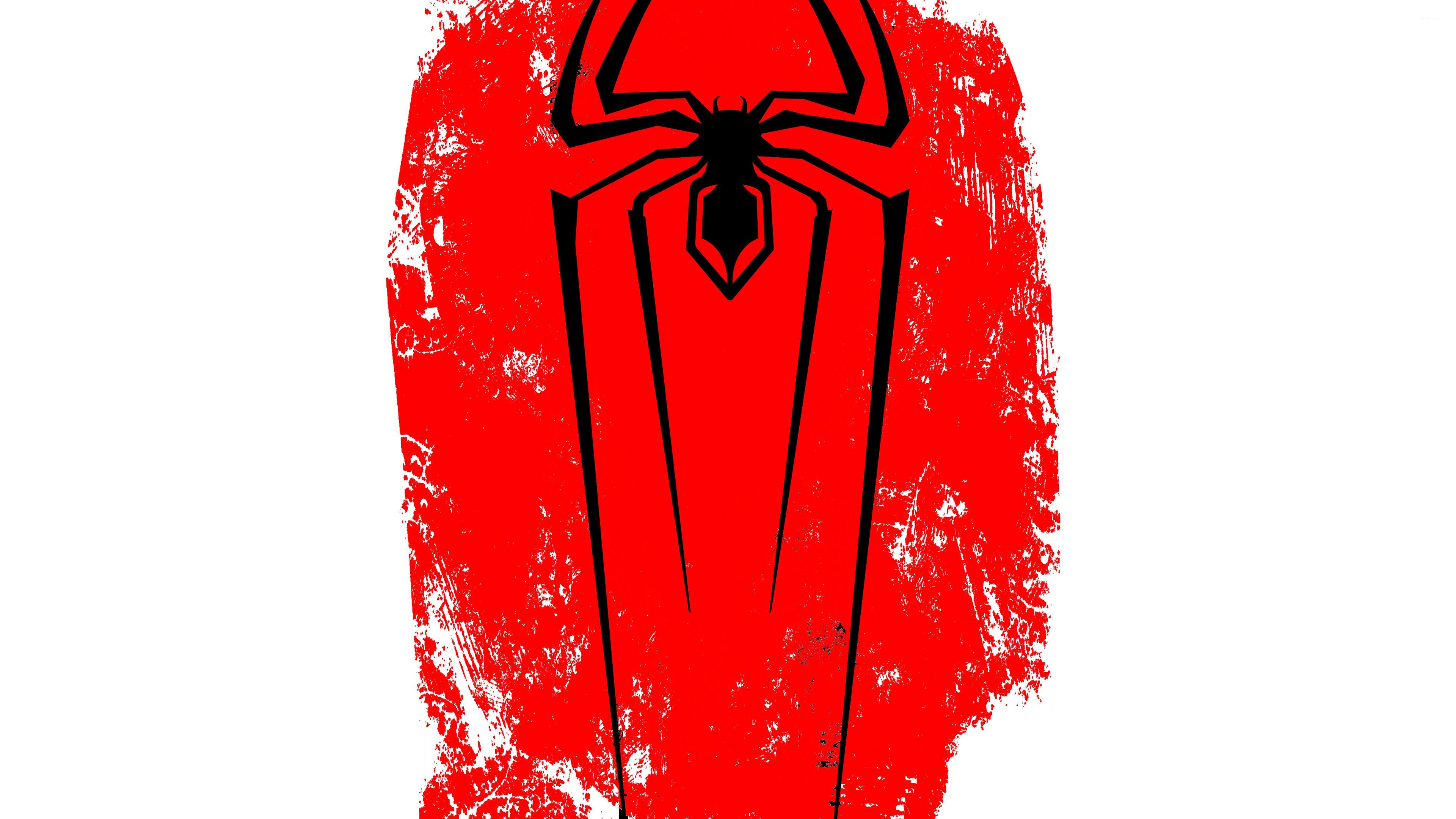 Spider Man Black Logo Wallpaper Comic Wallpapers 50845