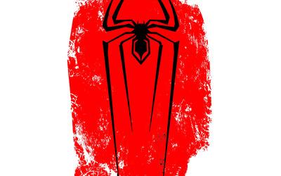 Spider-Man black logo wallpaper