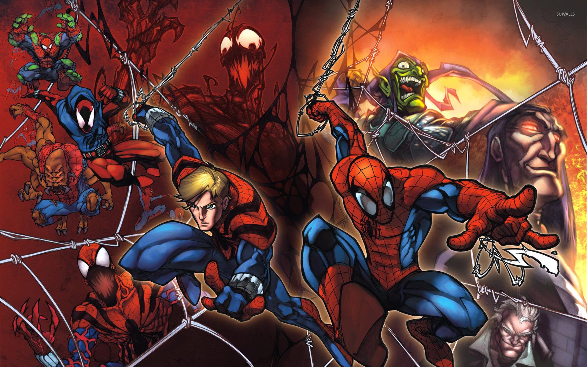 Spider man comic wallpaper - photo#14