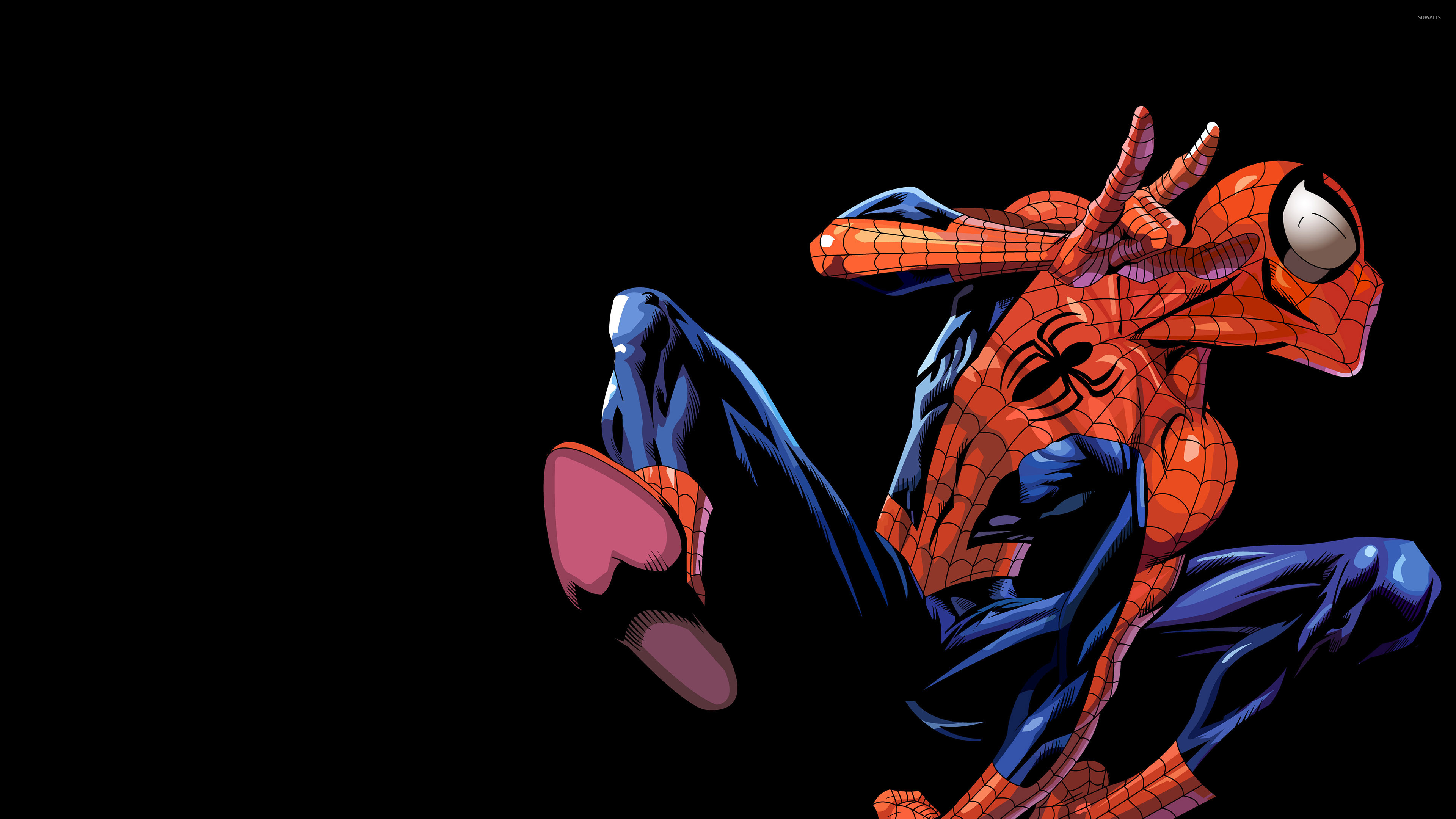 Spider Man In The Air Wallpaper Comic Wallpapers 50882